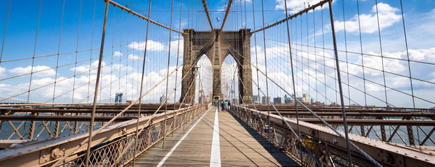 Fotomurales - New York Brooklyn Bridge Panorama