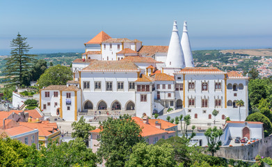 National Palace in Sintra, Lisbon District, Portugal