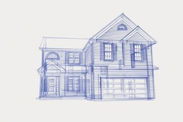 Blue Print House