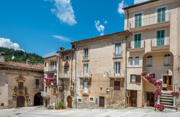 Scanno, old rural village in L'Aquila Province, Abruzzo (Italy)