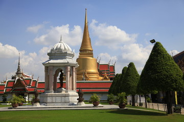 Entrance to Royal Grand Palace in Bangkok