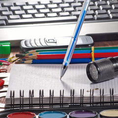 image of stationery close-up