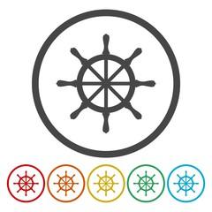 Vector Boat Steering Wheel