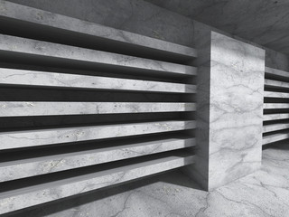 Concrete wall background. Abstract architecture construction