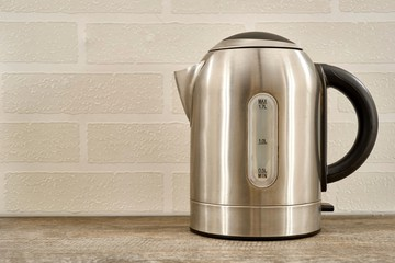 Silver Electric Kettle
