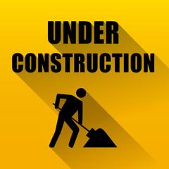 under construction website background