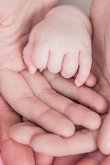 hand baby