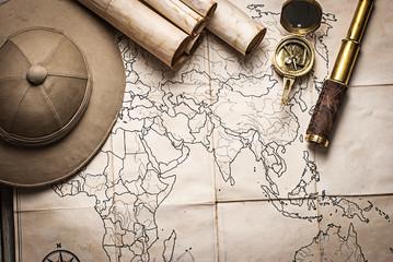old pirate treasure map