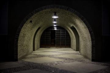 Beleuchteter Tunnel