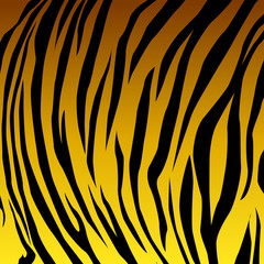 Animal skin yellow tiger. vector Eps 10