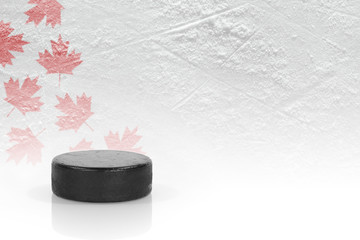 Canadian Hockey Puck