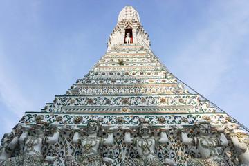 pagoda in Wat Arun Bangkok