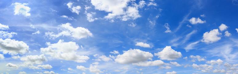 Panorama sky and cloud. Wall mural