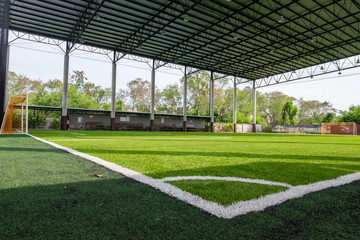 soccer field or stadium field or football field