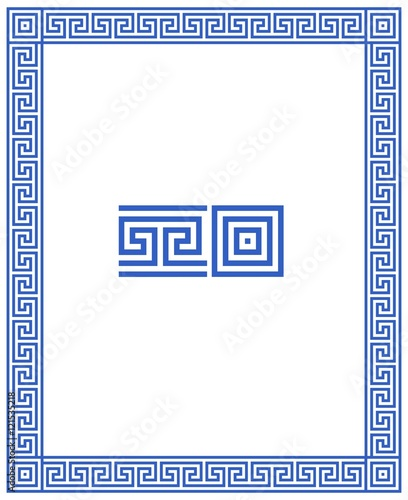 cadre d co m andres grecs format rectangle stockfotos und lizenzfreie vektoren auf fotolia. Black Bedroom Furniture Sets. Home Design Ideas