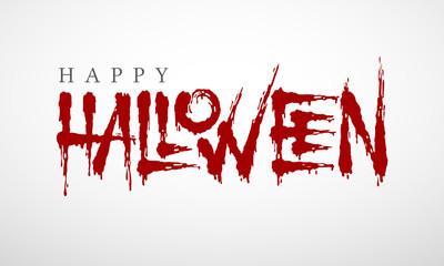 Vector Halloween lettering