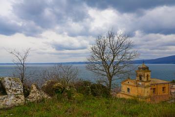 Trevignano Romano (Italy) - A nice medieval town on Bracciano lake, province of Rome