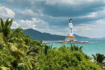 Guanyin statue in Nanshan, Hainan