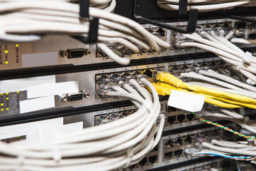 IT server  room.
