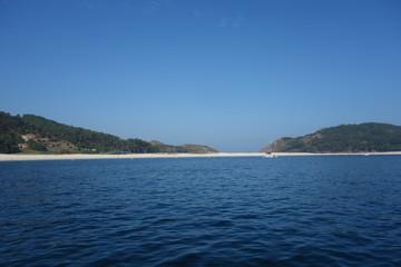 Cies island,Vigo,Spain.Praia de Rodas