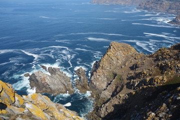 Cies island,Vigo,Spain