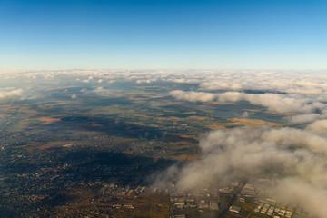 Aerial Photo Of Earth Horizon