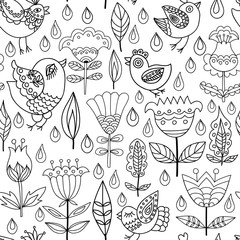 Decorative seamless background pattern