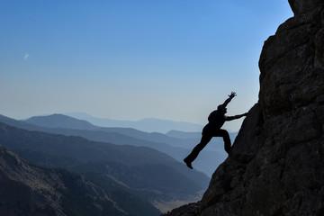 spor tırmanış mücadelesi & kaya tırmanışı
