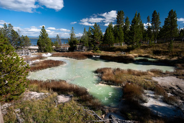 Hotsprings of Yellowstone NP, USA