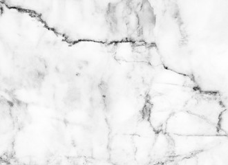 white marble natural for design texture pattern and background abstract black and white (with high resolution)