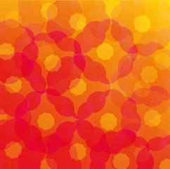 Circles Flower Abstract Background