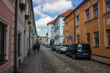 Ceske Budejovice, South Bohemia, Czech Republic.