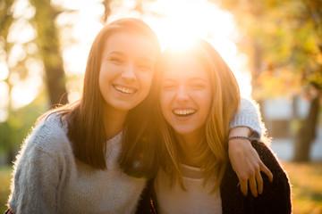 Fun together - friends portrait