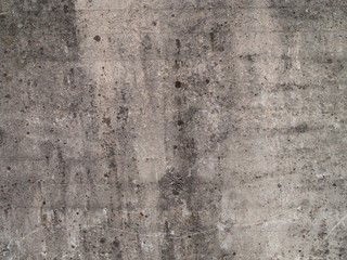 Close Up of a concrete wall, with structure and details