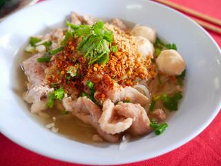 Noodle pork