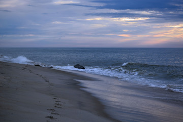Serene Sunrise at the Beach