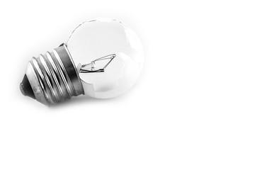 Close up Broken Bulb