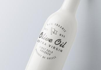 Close-up Bottle Mockup 01