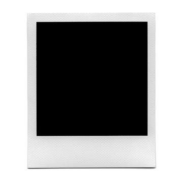 XXL - Blank polaroid photo frame.