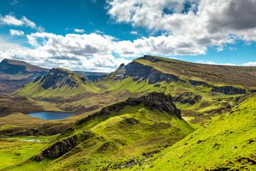 Scottish landscape at Island of Skye, Scotland