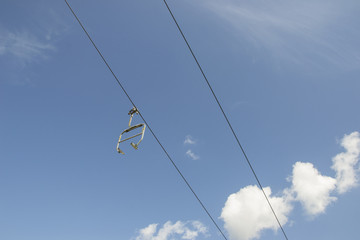 719 - chair lift in summer