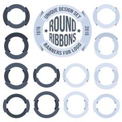 round banner