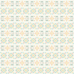Geometrical seamless primitive pattern