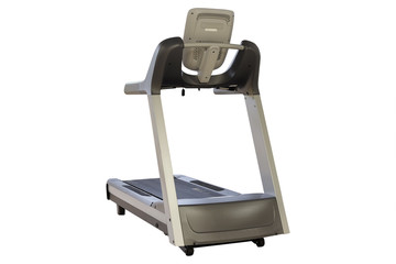The image of treadmill isolated