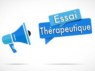 mégaphone : essai thérapeutique
