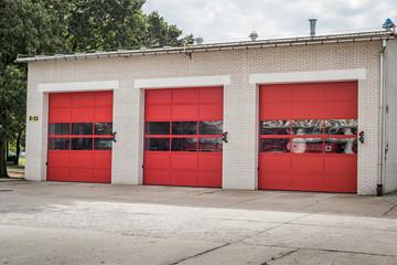Budynek garaż straży pożarnej Remiza