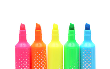 Bright Colored Markers