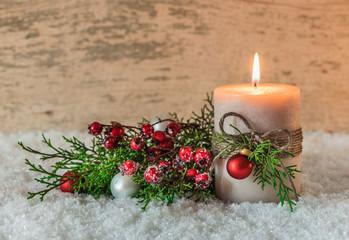 Weihnachtszeit Advent Weihnachten Kerze