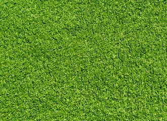 Decorative green grass loan texture. Sport and leisure.