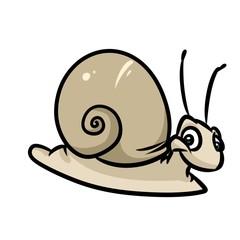 Snail cartoon illustration isolated image animal character